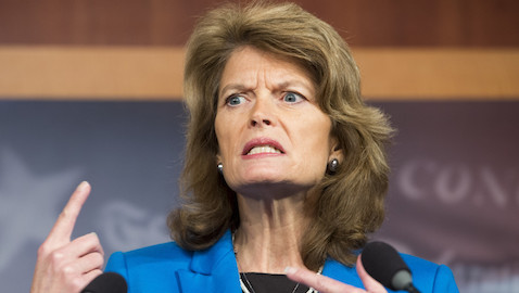 Murkowski (Photo By Bill Clark/CQ Roll Call)