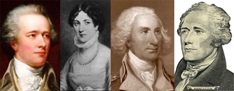 Hamilton, Eliza Schulyer-Hamilton, Phillip Schuyler, Hamilton on $10