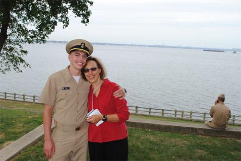 Ryan Morris with Ms. Morris