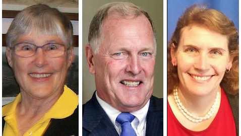 Gail Lightfoot, Duf Sundheim, Karen Roseberry