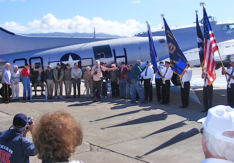 Boonville Veterans Gathered in Ukiah on Veterans Day 2015