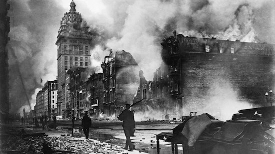 The 1906 SF Earthquake & Fire