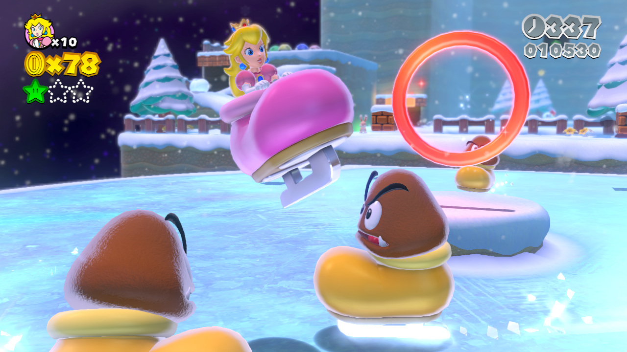 Wii U World Mario Star House Ghost 3d World Super