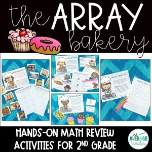 Arrays Activities for 2nd Grade