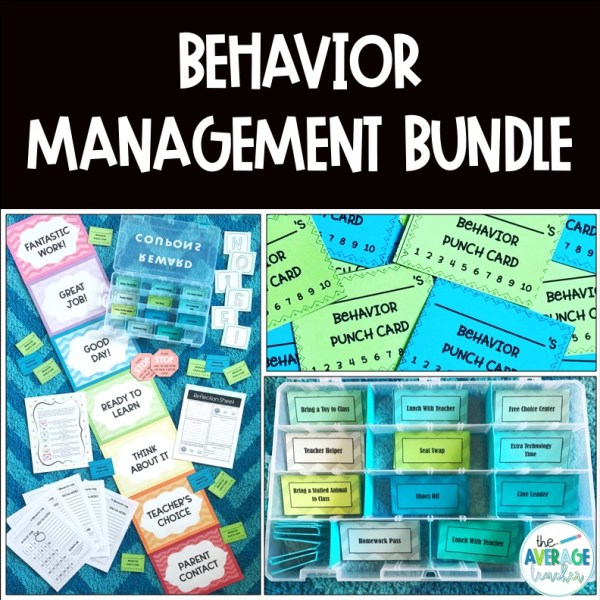 Behavior Management Strategies Bundle