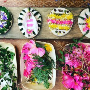 Nature play Easter dough eggs – A super simple eco friendly activity!