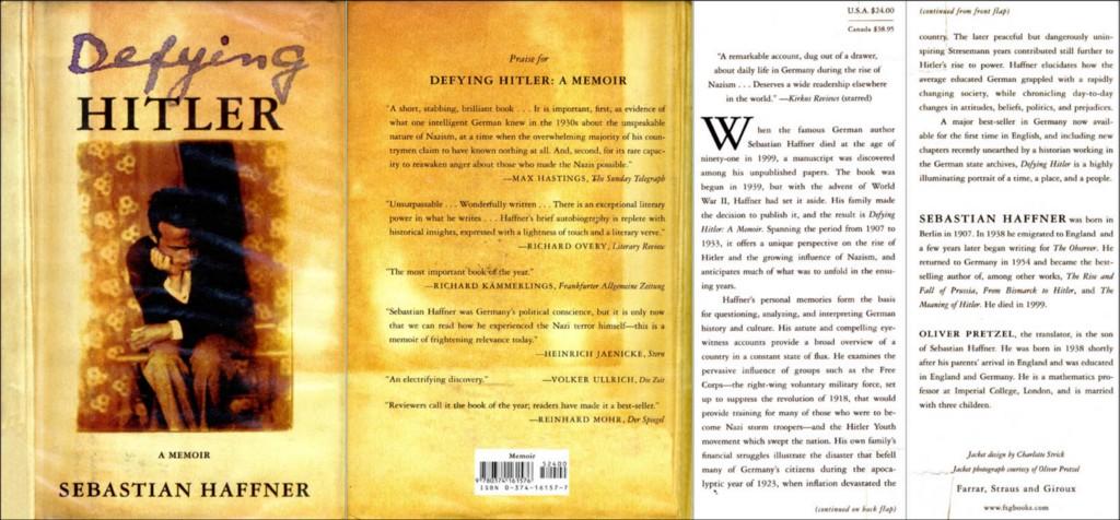 Image result for Sebastian Haffner memoir Defying Hitler