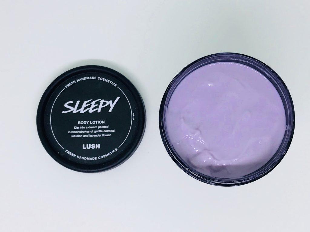 LUSH Sleepy Body Lotion