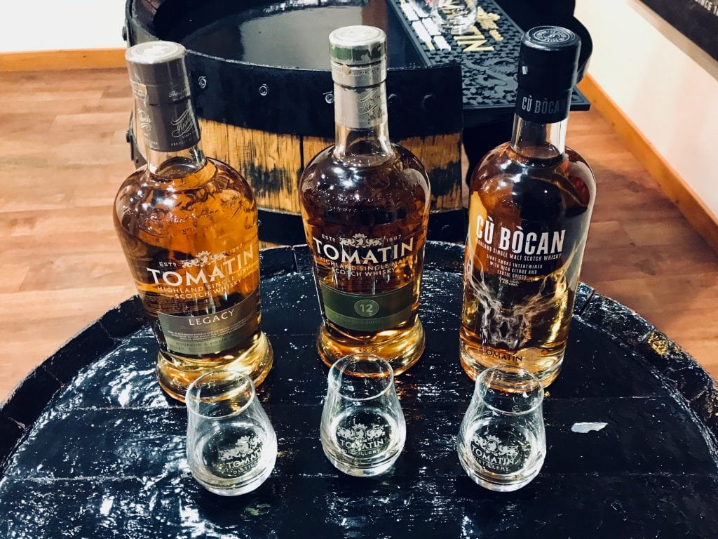 Tomatin Legacy, 12 Year old and Cù Bòcan Whisky