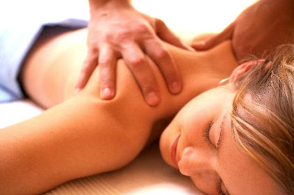 Massaging and Acupressure for neck pain
