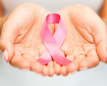 Pink ribbon for cancer