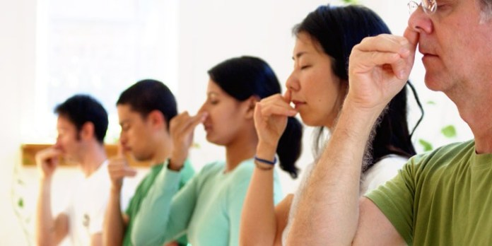 Pranayama to cure heart problems