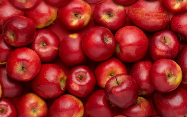 Red-apple-fruits