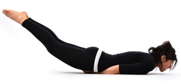 Shalabhasana Yoga pose