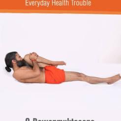 PawanMuktaAsana or leg lock pose