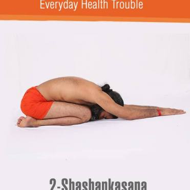 ShashakAsana or Hare Pose
