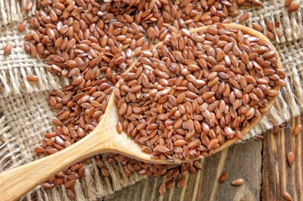 Edible flax seeds for health