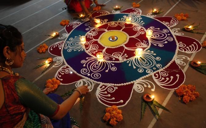 Happy Diwali decoration