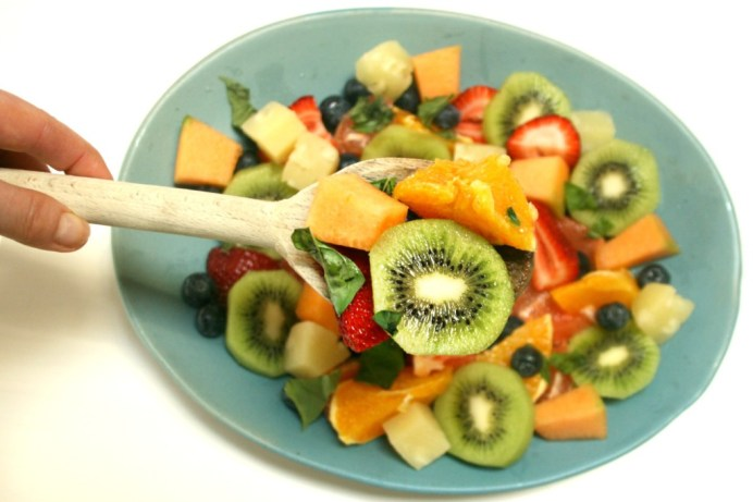 fruit salad for health