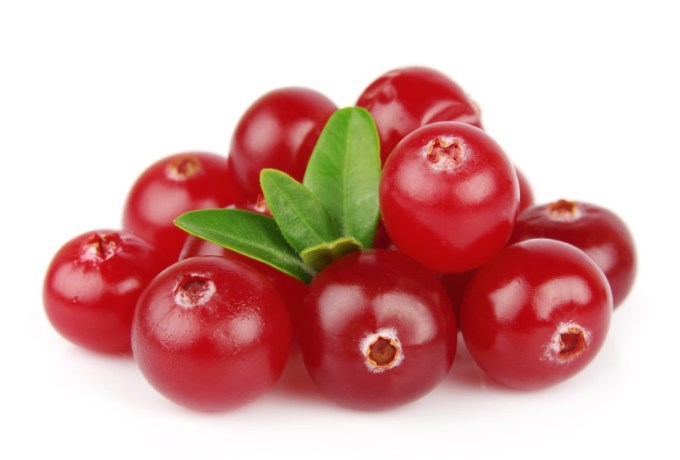 Delicious cranberries for health
