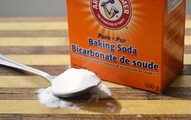 Baking soda for skin