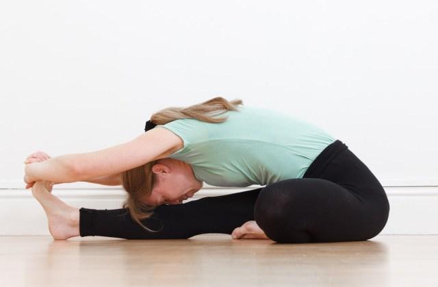Janusirsana yoga pose