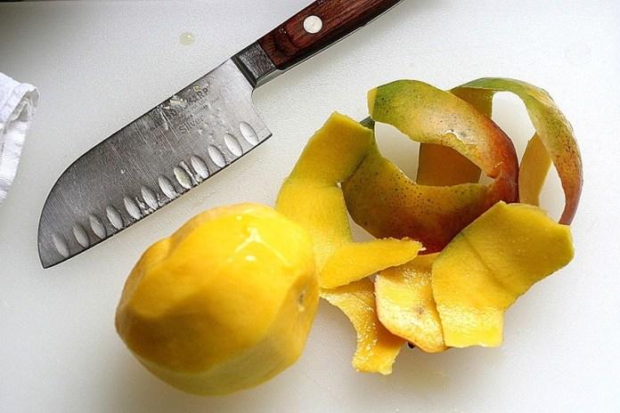 mango peels