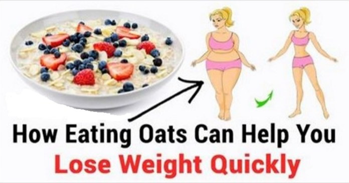 Oatmeal diet for weight loss