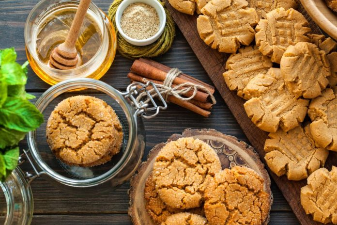 healthy honey biscuits