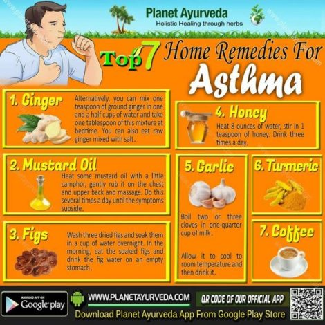 Top 7 Home Remedies for Asthma