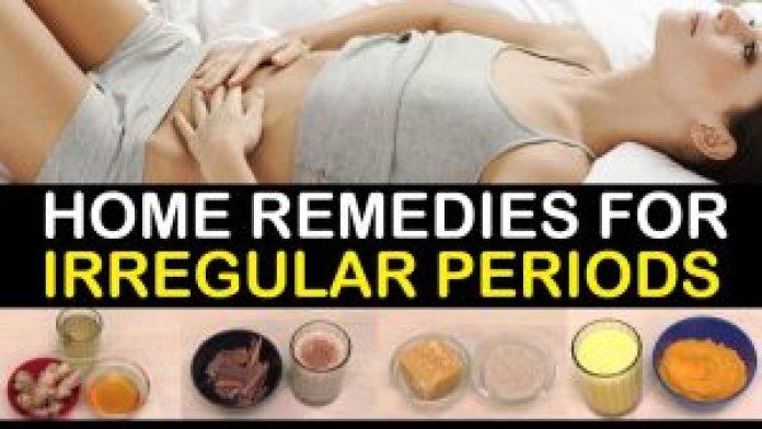 Home Remedies for Irregular Menstruation