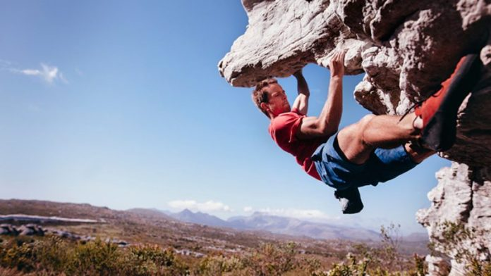 yoga poses for rock climbers