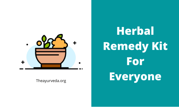 Herbal Remedy Kit
