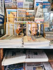 Rinjani di newstand NYC