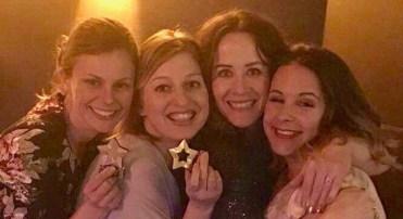 Becca, Rosie, Hannah & Jules - winners!