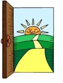 doorway sun path