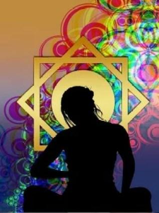 meditation drawing color