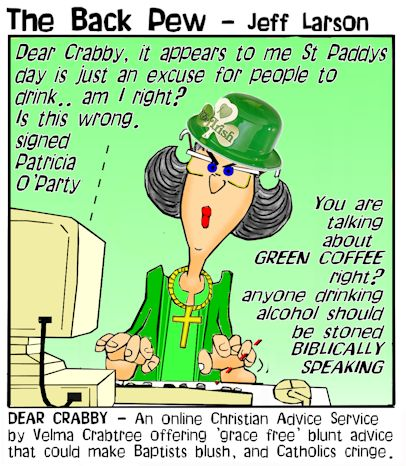 Image result for st patrick's day cartoons