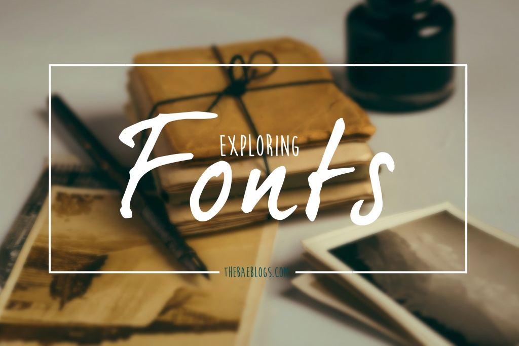 Exploring Fonts + How to Install Fonts on OS X El Capitan Tutorial