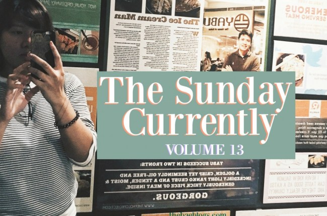 the-sunday-currently-vol-13