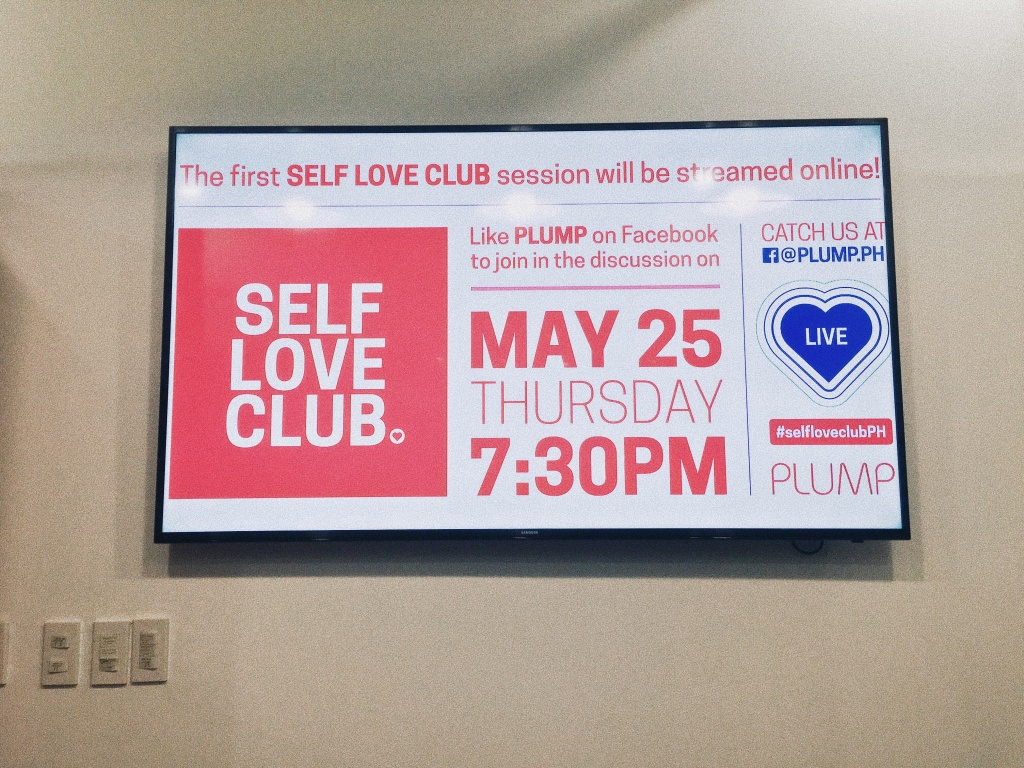 Self-love club with Plump.Ph   The Bae Blogs by Bae Milanes