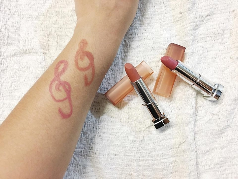 Maybelline Inti-Matte Nude Lipsticks | Swatch + Review | Powder Matte Almond Pink | Powder Matte Toasted Brown | The Bae Blogs by Bae Milanes | Maybelline Lipstick Review