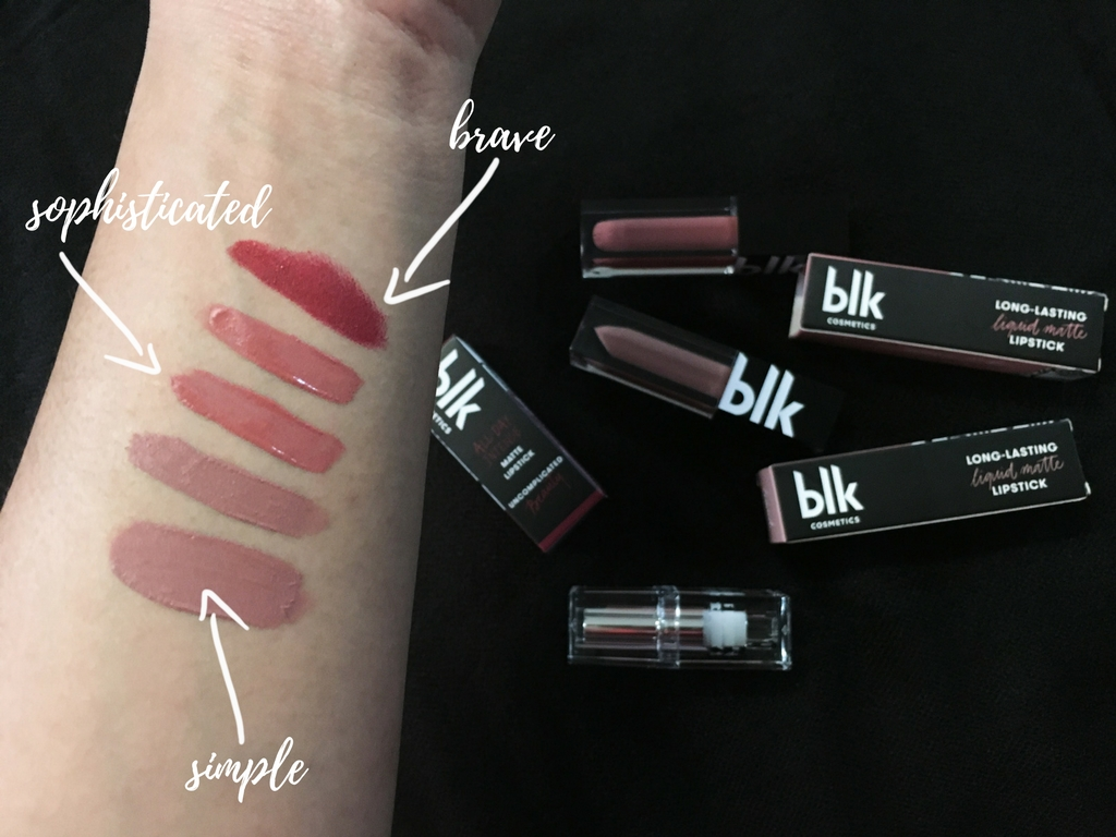 BLK Cosmetics Review | All-Day Intense Matte Lipstick | Long-Lasting Liquid Lipstick | BLK Cosmetics by Anne Curtis | The Bae Blogs by Bae Milanes