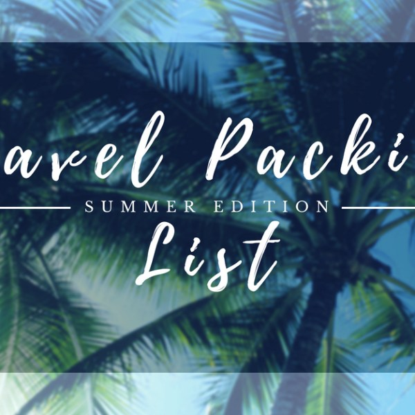 VALIGIA PER IL MARE: UNA TRAVEL PACKING LIST GRATIS PER TE!