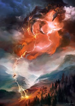Image result for lightning bolt full art