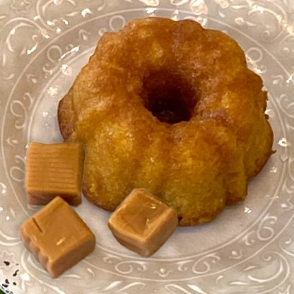 caramel rum cake