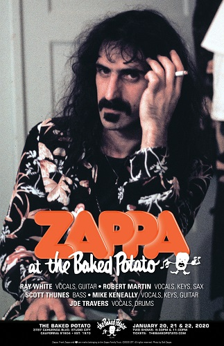 Zappa at the Baked Potato