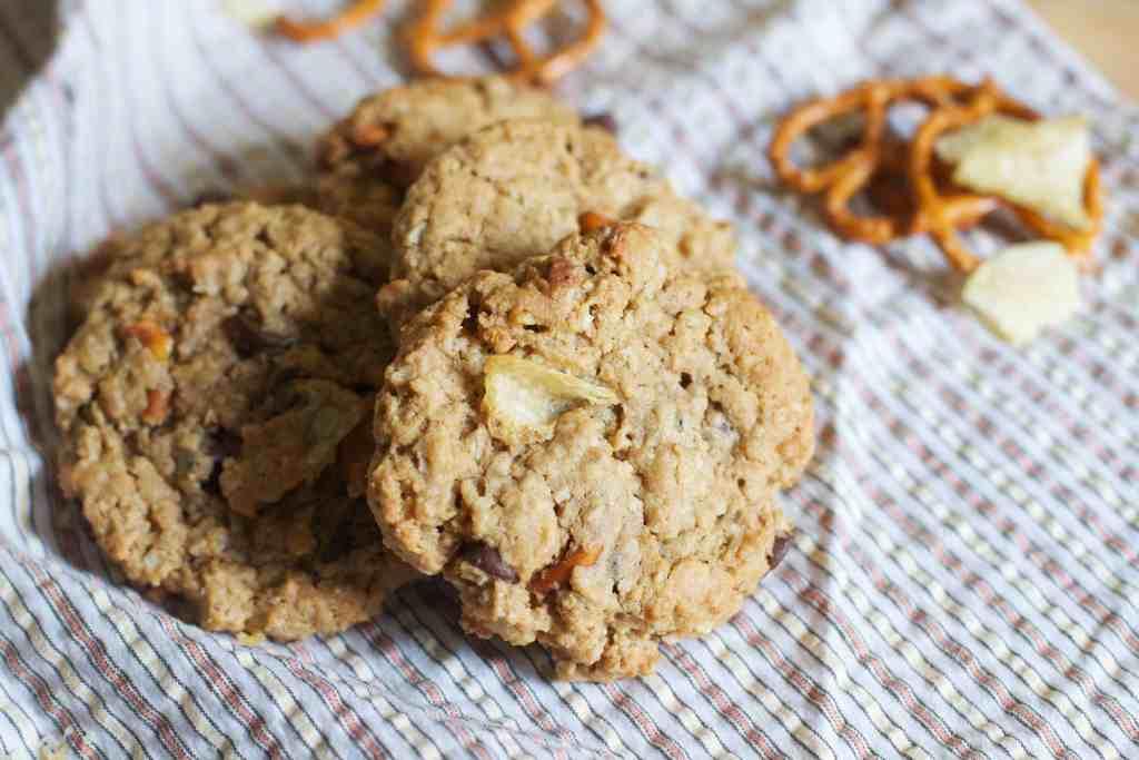Sweet and Salty Monster Cookies