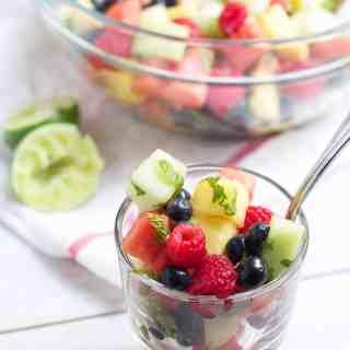 Minty Mojito Fruit Salad
