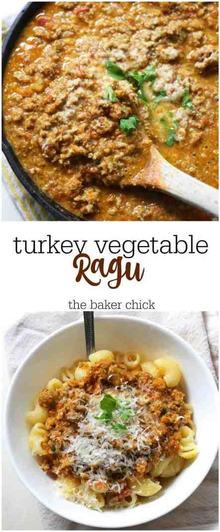 Turkey Vegetable Ragu